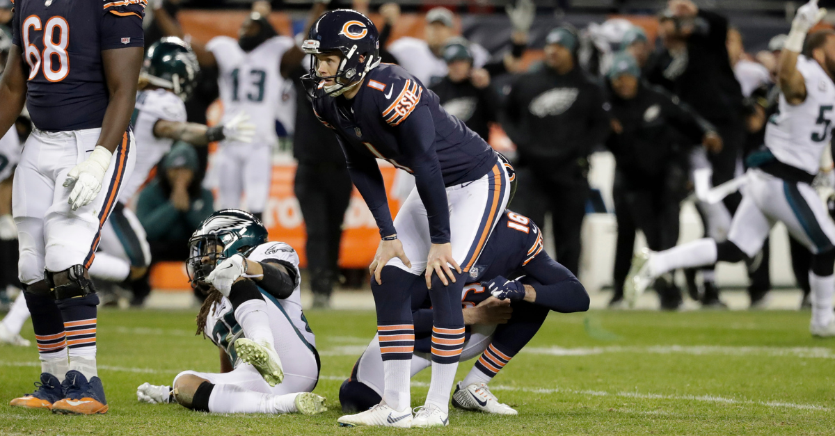 cody parkey death threats