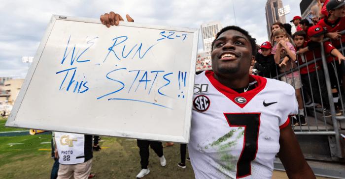 Ranking Georgia's Greatest Running Backs Since 1941