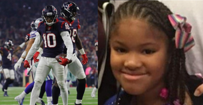 DeAndre Hopkins to Donate Playoff Check to Murdered 7-Year-Old's Family