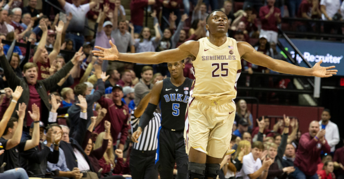 Kabengele, 'Noles Bench Prove Vital to Florida State's Success