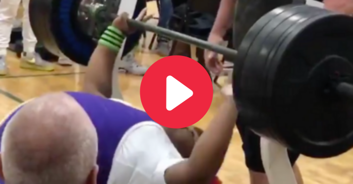 16-Year-Old Girl Bench Presses 410 Pounds With Ease