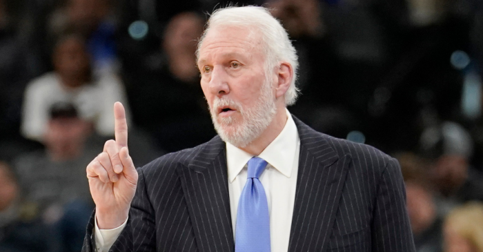 WATCH: Only Gregg Popovich Would Be Angry After a Game-Winning Shot