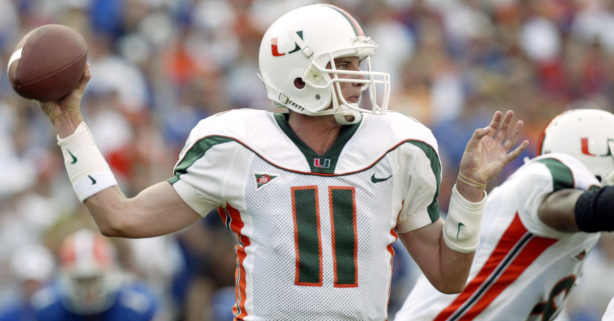 "Ranking the 8 Starting Quarterbacks Since Ken Dorsey Left ""The U"""