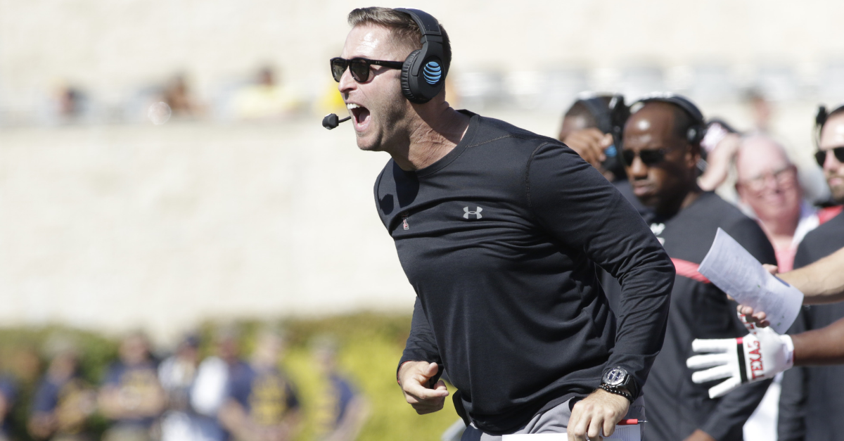 Kliff Kingsbury Waves Bye to USC, Lands New NFL Head Coaching Gig