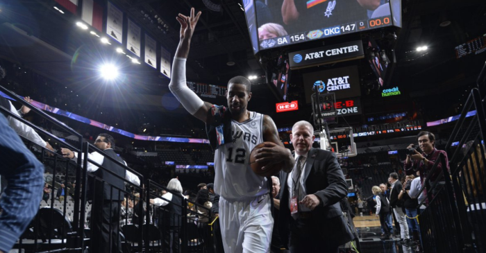 Spurs Star LaMarcus Aldridge Pulls Off Incredibly Rare Feat in Today's NBA