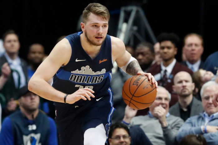 Teenager Luka Doncic Makes NBA History Look Like a Walk in the Park