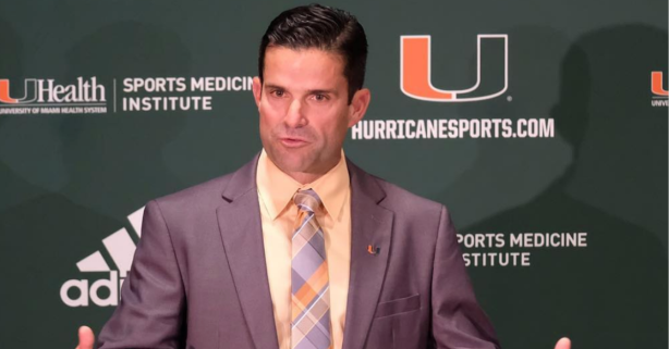 At This Rate, Manny Diaz's Hurricanes Will Definitely Become Transfer U