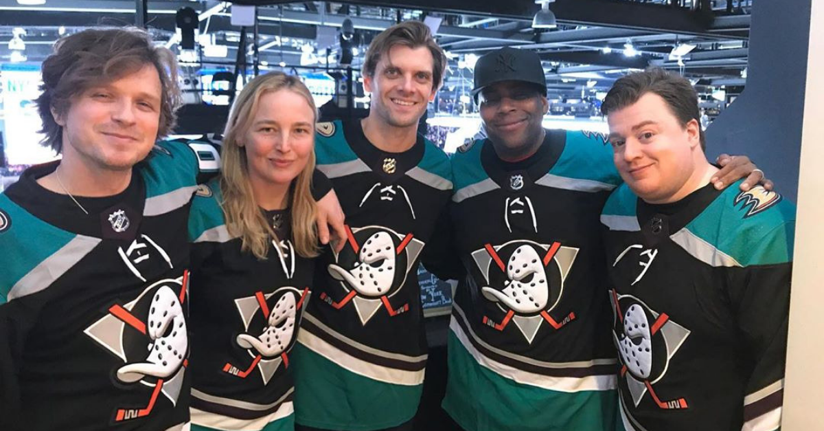 LOOK: The Original Mighty Ducks Reunited, But Can You Recognize Who's Who?