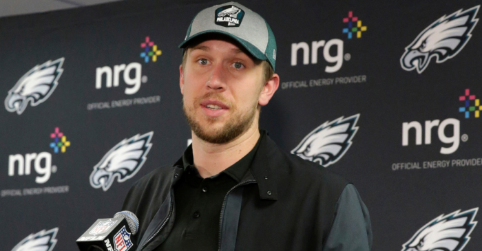 Nick Foles Gets Ran Out of Philly, Now This Team Needs to Sign Him Immediately