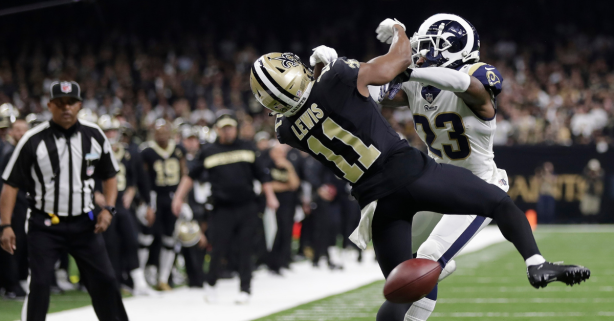 Pass Interference Now Reviewable by NFL Officials Starting in 2019