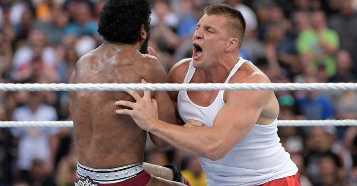 Rob Gronkowski Signing with WWE is a Match Made in Heaven