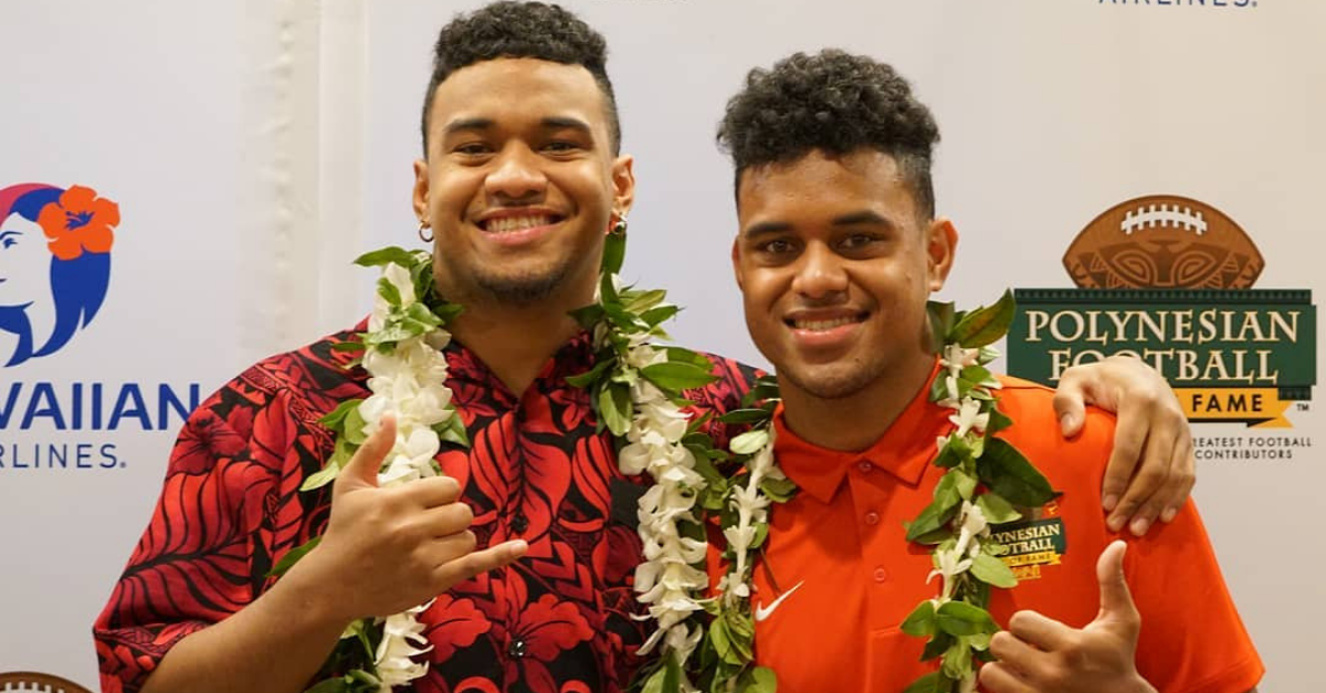 Tua Tagovailoa's Biggest Competition? That'd Be His Little Brother