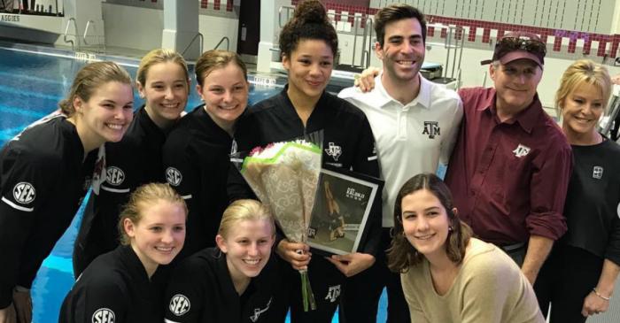 Texas A&M Swimming Makes Big Splash Before SEC Championships