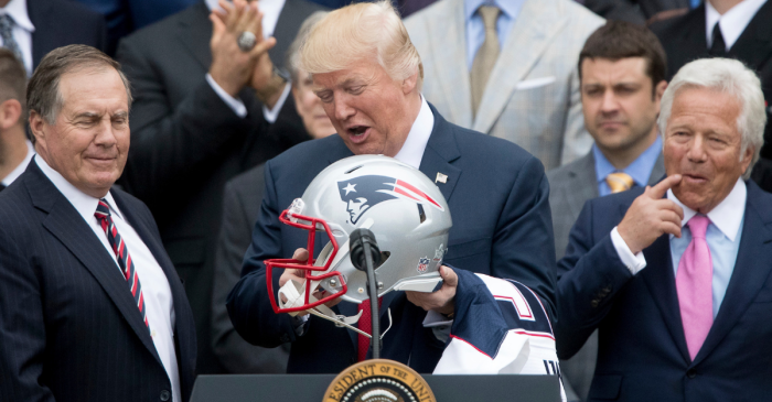 President Trump Isn't Big on California. That Goes for His Super Bowl Pick, Too