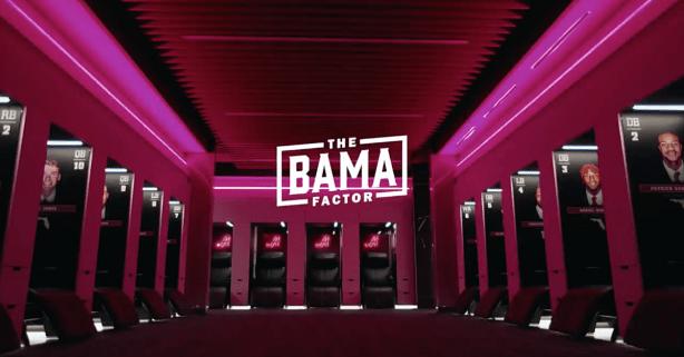 Alabama Gives Sneak Peak at Multi-Million Dollar New Locker Room