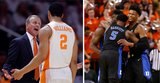 AP Top 25: Tennessee Keeps Safe Lead Over Duke for the Top Spot