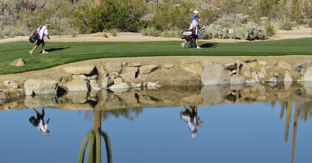 Golf Pro Goes Full 'Tin Cup' and Hits 6 Shots Into the Water