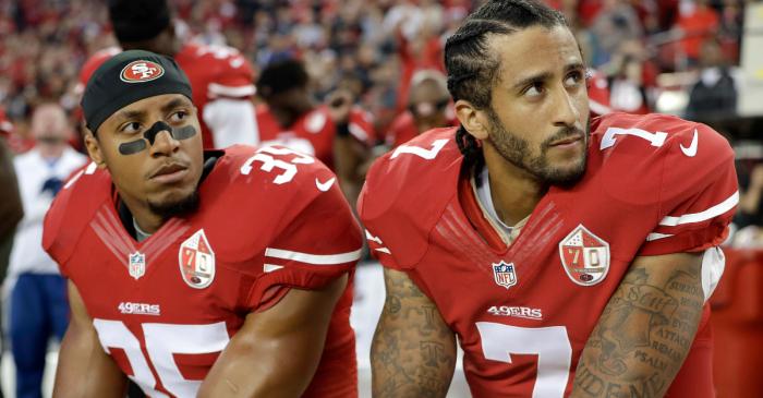 Colin Kaepernick, Eric Reid Reach Settlement in Collusion Case Against NFL