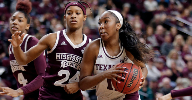 Kayla Wells Gives the Lady Aggies a True Big 3 in the SEC