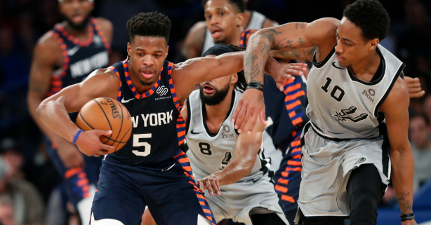 Knicks Defeat Spurs, Finally End 18-Game Losing Streak at The Garden