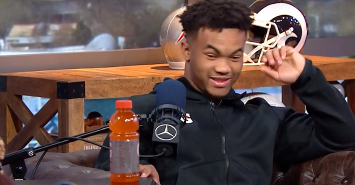WATCH: Kyler Murray Awkwardly Avoids Every Question About Pro Decision