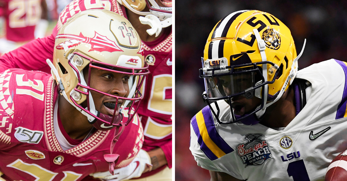 LSU vs FSU football series