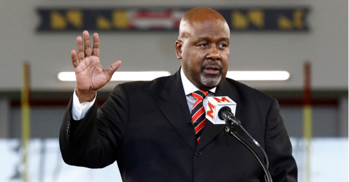 After Death and Turmoil, Maryland's Mike Locksley Shifts Focus to Safety