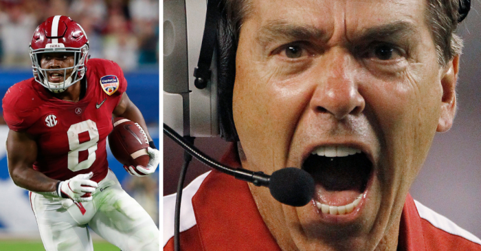 "Apparently, Nick Saban Tells ""Deez Nuts"" Jokes During Practice"