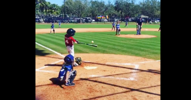 This One-Armed Kid Blasts a Home Run, But It's Nothing New For Him