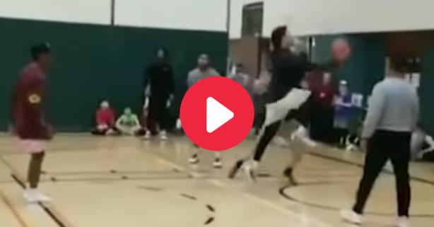 Patrick Mahomes' Viral Basketball Highlights Got Him Banned
