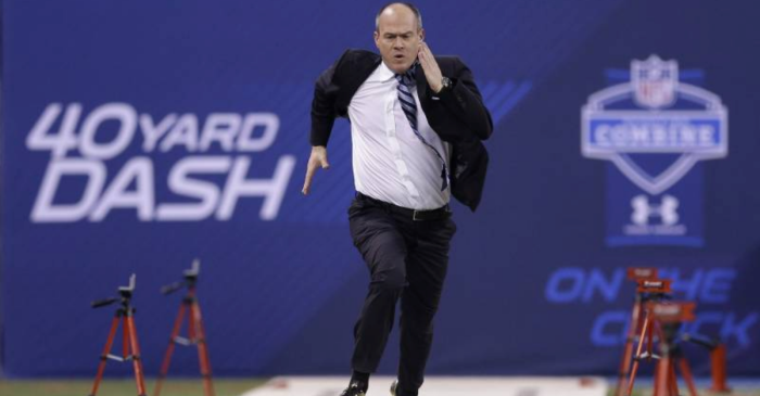 This Guy Runs the NFL's Most Important 40-Yard Dash. Here's Why