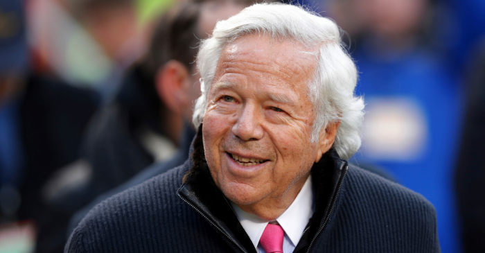 Patriots Owner Robert Kraft Charged in Massive Prostitution Sting
