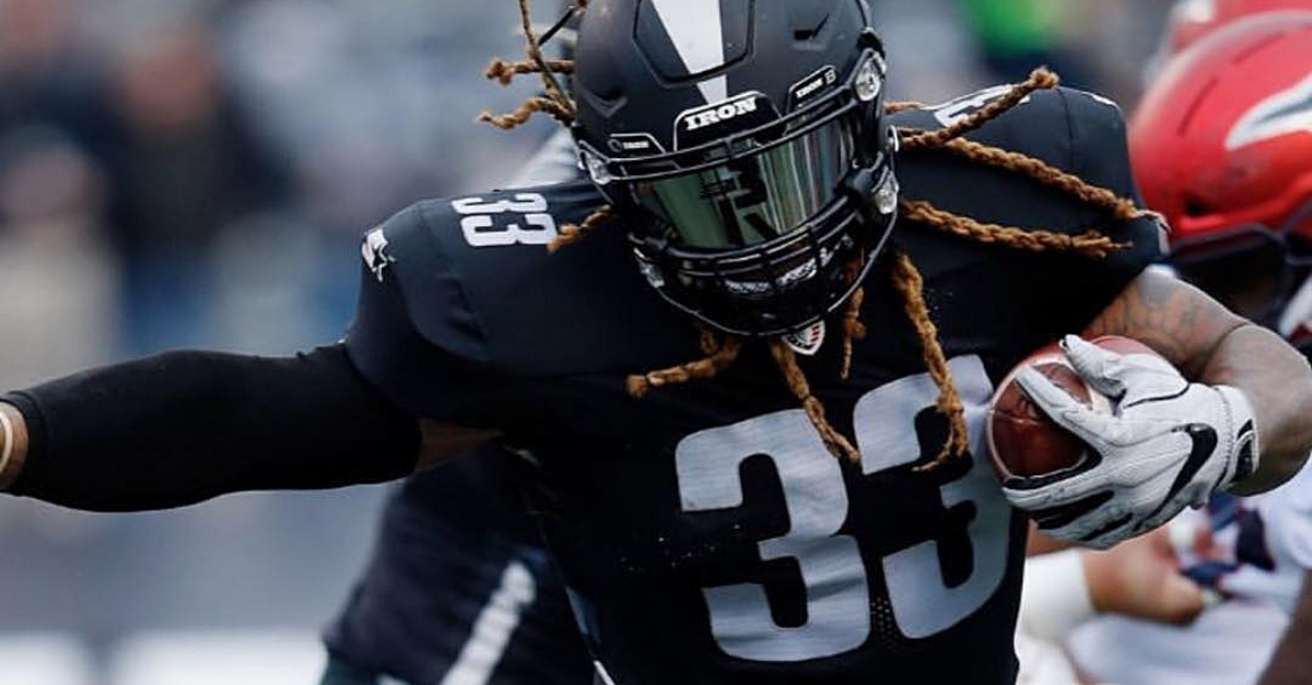 Trent Richardson Was Flagged Because AAF Footballs are Basically Computers