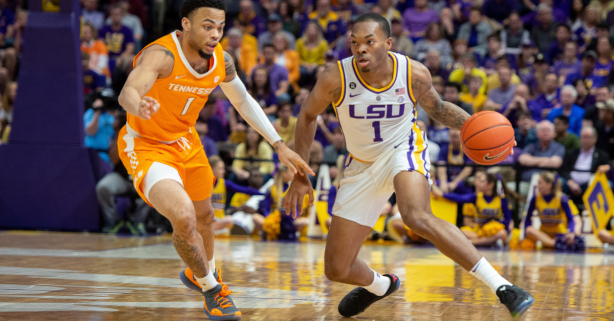 LSU Beats No. 5 Tennessee in OT Thanks to Javonte Smart's Career Day