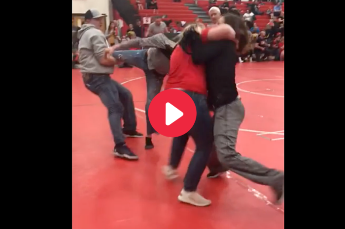 Parents Start Fighting Because Youth Wrestling Must Be Too Boring