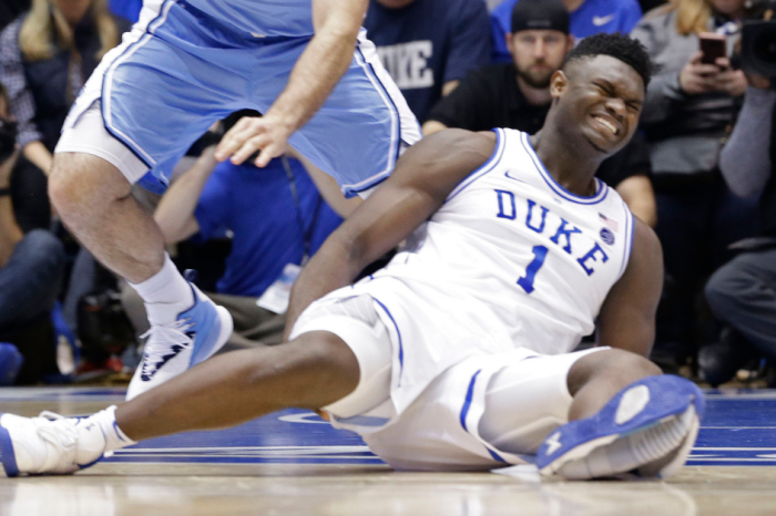 Zion Williamson's Nike Shoe Explosion Raises Eyebrows and Concerns