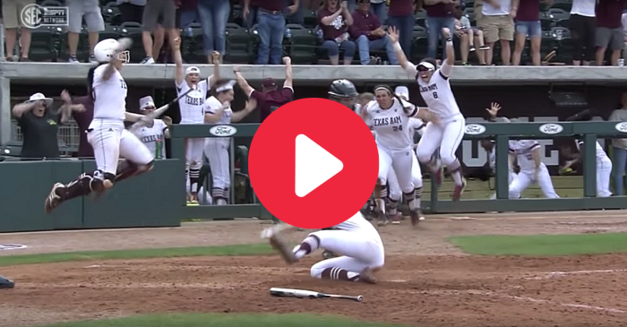 Texas A&M's Walk-Off Winner Ended Alabama's Undefeated Season