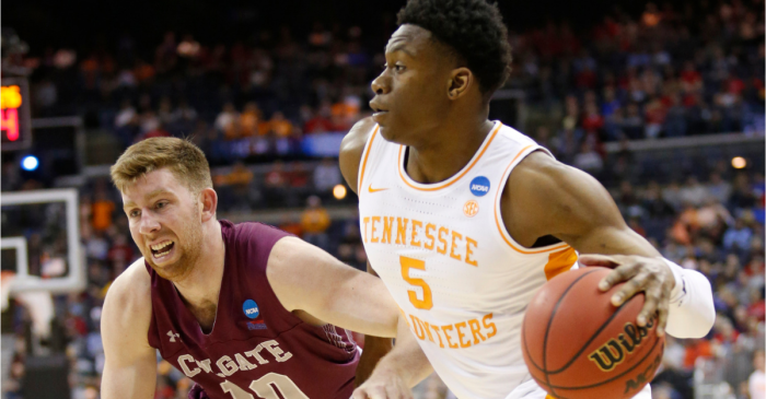 Tennessee Spits Out Colgate to Earn Fresh March Madness Win