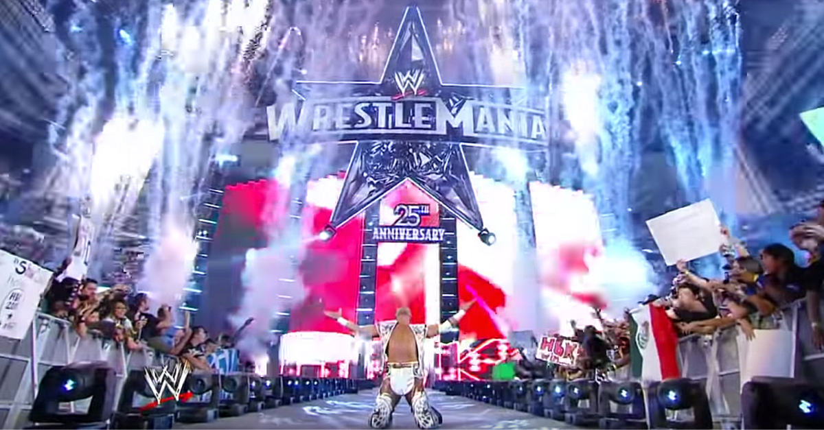Best WrestleMania Entrances