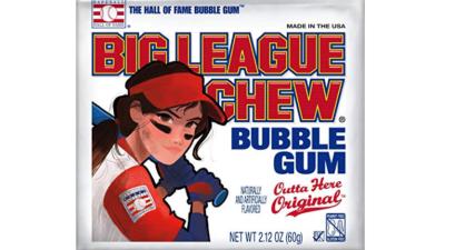 Big League Chew Girl