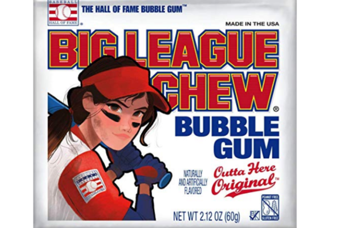 Big League Chew's Softball Pouch Honors Women for First Time
