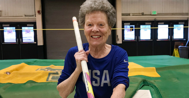 Pole Vaulter, 84, is Setting World Records with No Plans to Slow Down