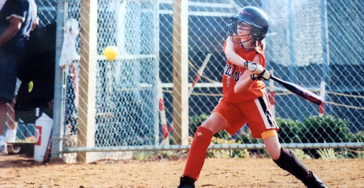 Female Athletes Respect Softball
