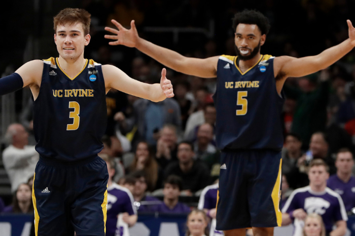 UC Irvine Beats 4-Seed Kansas State in March Madness' Latest Upset
