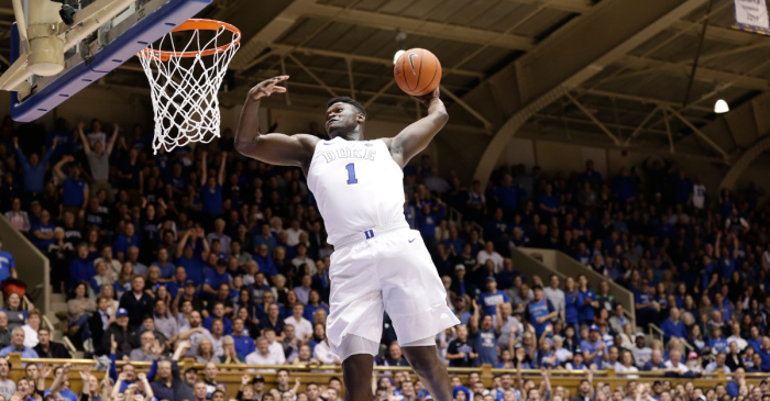 These Are the 10 Best College Dunks of the Year, and Half of Them Are Zion