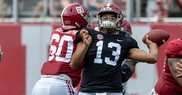Tua Struggles, Freshmen Shine: 5 Takeaways from Alabama's Spring Game