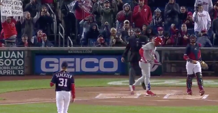 Phillies Announcer Says Something So Mean to Nats Fans That They Probably Cried
