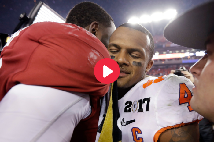 Deshaun Watson Sends Alabama Star Inspirational Message Before Draft Day