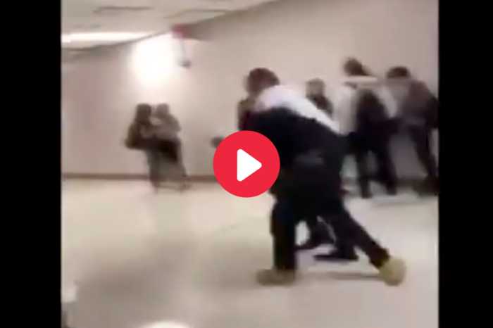 Teen Tries Attacking Principal on Camera, But Fails Miserably