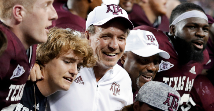 "Jimbo Fisher Loves Texas A&M: ""I Plan on Being Here a Long Time"""